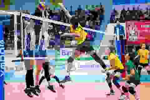 Long An giành HCV bóng chuyền nữ, Hà Nội chiếm ưu thế trong môn wushu