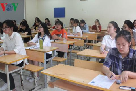 Giáo viên mong có thêm thời gian ôn thi THPT Quốc gia cho học sinh