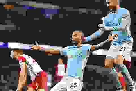 Man City 3-0 West Brom: Sức mạnh vượt trội