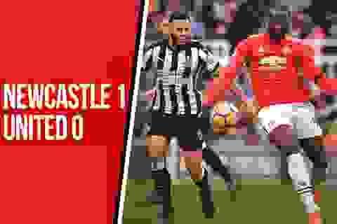 Newcastle 1-0 MU: Nỗi buồn của Mourinho