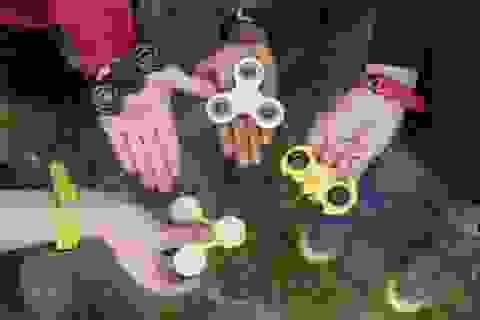 Đồ chơi con quay vô cực có thể gây nguy hiểm với trẻ nhỏ