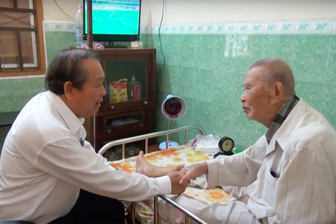 Phó Thủ tướng Trương Hoà Bình chúc Tết tại tỉnh Long An