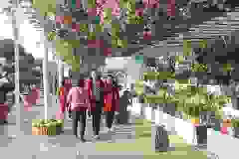 Du khách đội mưa du xuân tại Đà Lạt