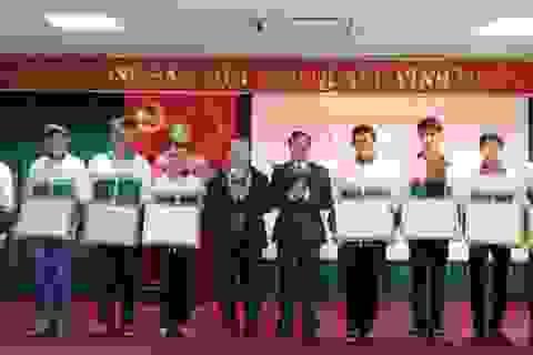 Học sinh Trường THPT Chuyên Võ Nguyên Giáp chiếm lĩnh giải trong cuộc thi HSG Quốc gia