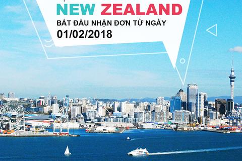 """Học bổng Chính phủ New Zealand năm 2019 chính thức """"mở cửa"""" đón ứng viên Việt"""