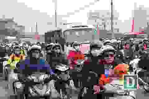 Hàng triệu người hối hả hành trình trở lại thành phố