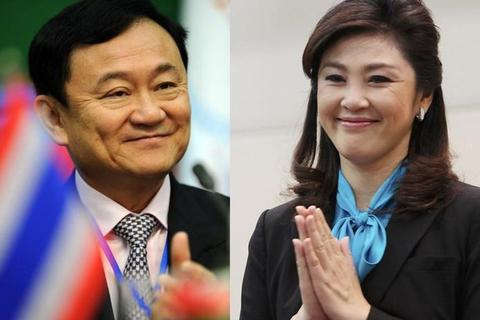 Anh em nhà Thaksin xuất hiện ở Singapore