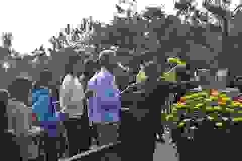 Gần 4,7 vạn người viếng mộ Đại tướng Võ Nguyên Giáp dịp Tết Nguyên đán