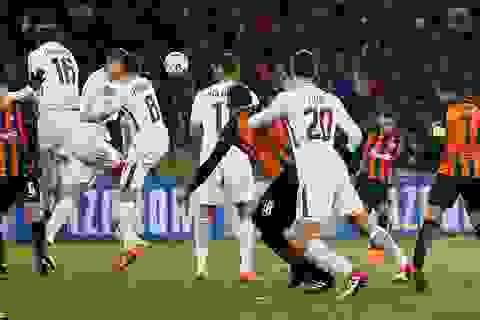AS Roma gục ngã trên sân của Shakhtar Donetsk