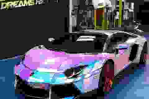 Để Lamborghini Aventador toả sáng mọi nơi mọi lúc