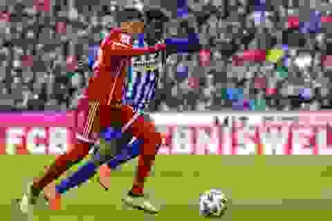 Hàng công vô duyên, Bayern Munich lỡ hẹn với kỷ lục