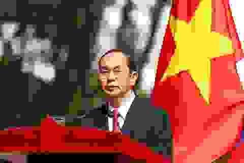 Chủ tịch nước Trần Đại Quang sắp thăm Ấn Độ và Bangladesh