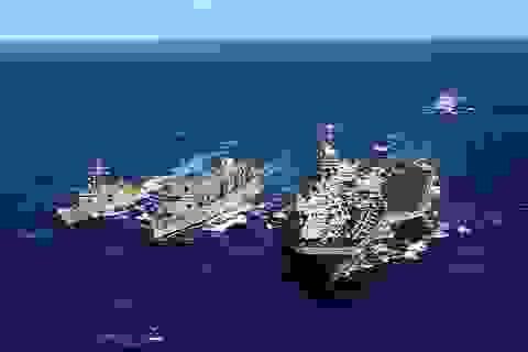 Tàu sân bay, tàu tuần dương, tàu khu trục Hoa Kỳ thăm Đà Nẵng