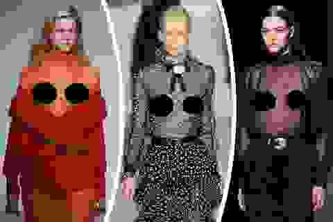 """Những thiết kế thời trang khiến người xem… """"đỏ mặt"""""""