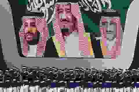 Hàng loạt tướng lĩnh Ả rập Xê út mất chức sau một đêm