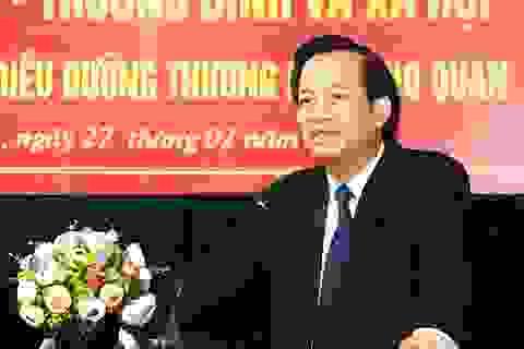 """Bộ trưởng Đào Ngọc Dung: """"Nâng chất nguồn nhân lực Ninh Bình từ giáo dục nghề nghiệp"""""""