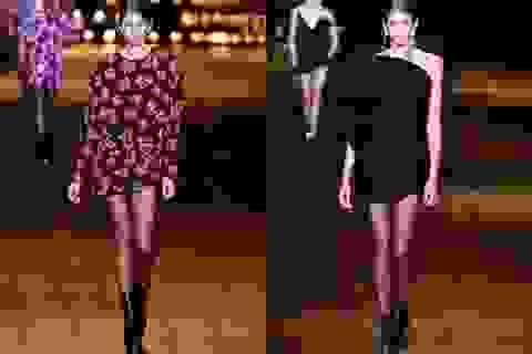 Con gái Cindy Crawford cuốn hút trên sàn diễn thời trang