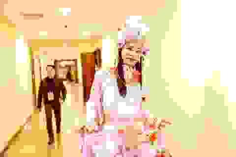 """Cô Đẩu """"bung lụa"""", Ngọc Hoàng bần thần trong hậu trường Táo Quân 2018"""
