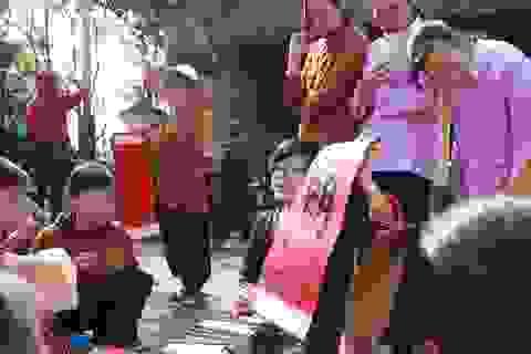 Học sinh Hà Nội học Lịch sử, Văn học, Mỹ thuật qua không gian tết làng quê Bắc bộ