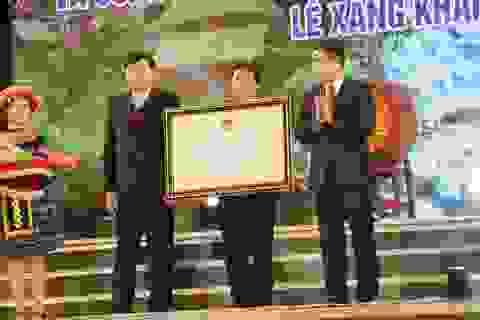 Công bố và trao tặng bằng công nhận di sản cấp quốc gia lễ Xăng Khan