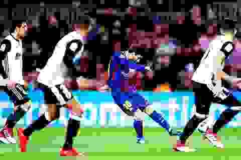 """Barcelona """"vượt ải"""" Valencia để tiến vào chung kết Cúp Nhà vua?"""