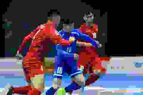 Đội tuyển futsal Việt Nam gặp Uzbekistan ở tứ kết giải futsal châu Á 2018