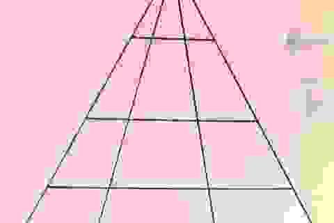 Đố bạn: Có bao nhiêu tam giác trong hình này?