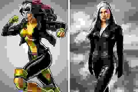 """Những siêu anh hùng có tạo hình """"một trời, một vực"""" so với nguyên tác"""