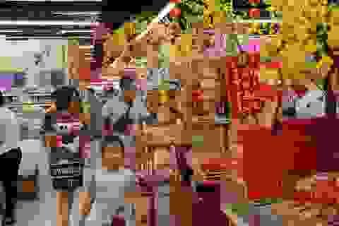 Rộn ràng sắc xuân -đến Lotte Mart là thấy Tết