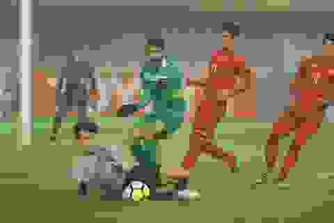 Toả sáng ở U23 Việt Nam, Bùi Tiến Dũng được bắt chính ở Thanh Hoá
