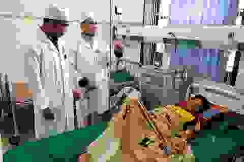 Huy động cán bộ, chiến sĩ hiến máu hiếm cứu sống bệnh nhân Cơtu