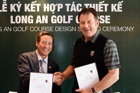 Huyền thoại golf Nick Faldo thiết kế sân golf Long An