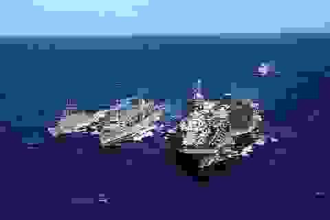 Tàu sân bay Mỹ nâng cao vị thế quốc phòng và vai trò quốc tế của Việt Nam