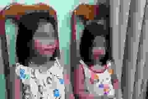 Giải cứu 2 bé gái nghi bị bắt cóc đòi tiền chuộc