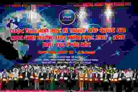 Gần 250 dự án của học sinh THPT  tranh tài tại cuộc thi Khoa học kỹ thuật