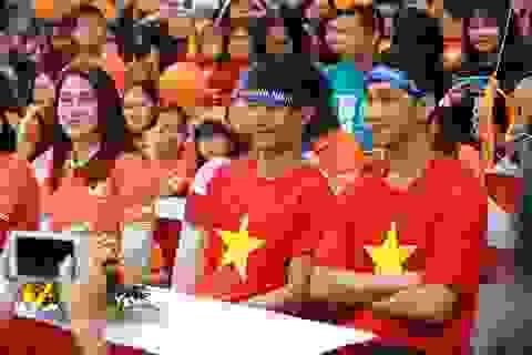 Tiến Dũng, Trọng Đại U23 Việt Nam cùng 5.000 người đi bộ kêu gọi làm việc tốt