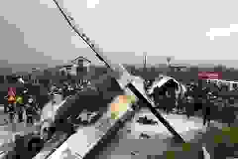 Máy bay chở khách gặp nạn ở Nepal: Ít nhất 50 người chết