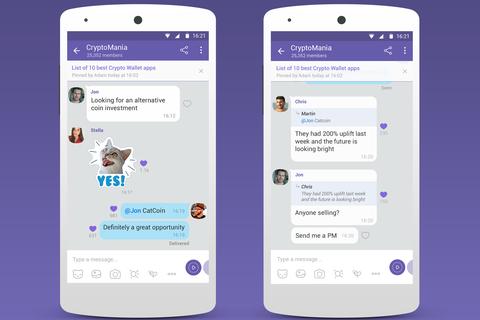 """Viber tung tính năng chat nhóm """"khủng"""" với sức chứa 1 tỷ người"""