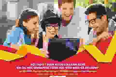 """Hội thảo """" Định hướng ngành nghề khi du học Singapore cùng Học viện MDIS"""""""