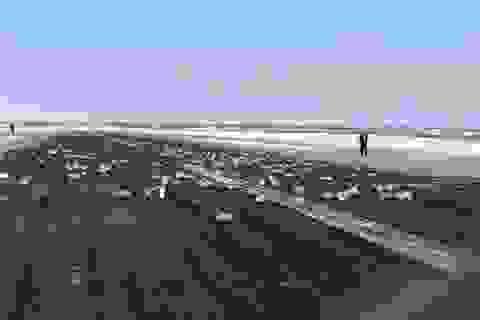 Máy bay Nga bung cửa, hơn 3 tấn vàng từ trên trời rơi xuống
