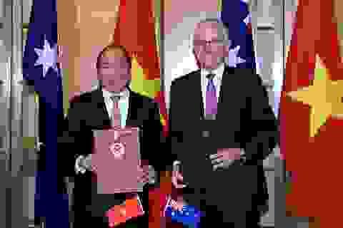 Việt Nam - Australia thiết lập quan hệ Đối tác chiến lược
