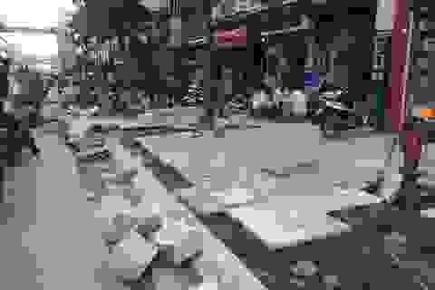 Hà Nội: Nhiều vấn đề đặt ra sau thanh tra dự án lát đá vỉa hè