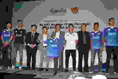 Ra mắt nhà tài trợ mới, CLB bóng đá Quảng Nam đặt chỉ tiêu cao tại V-League 2018