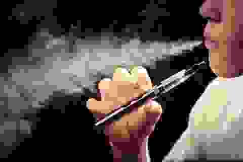 Thanh thiếu niên không nên sử dụng thuốc lá điện tử