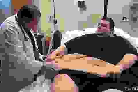 Người đàn ông nặng 380kg qua đời khi đang ghi hình giảm cân