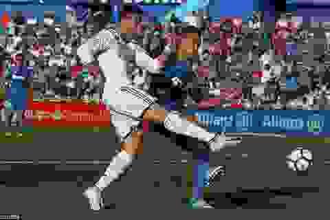 Real Madrid và cuộc chiến gian nan để giữ suất dự Champions League
