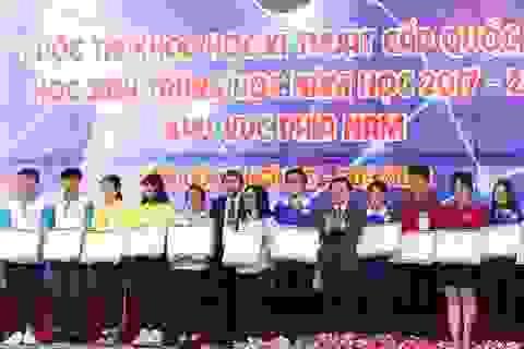 119 dự án đạt giải tại cuộc thi Khoa học kĩ thuật khu vực phía Nam