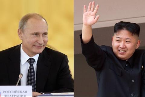 Ông Kim Jong-un chúc mừng Tổng thống Putin tái đắc cử
