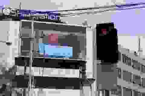 Video khiêu dâm bất ngờ xuất hiện trên đường phố Philippines