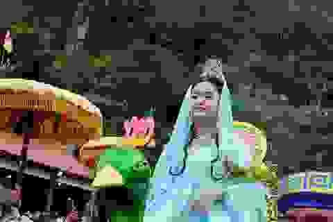 Tưởng nhớ Huyền Trân công chúa ở lễ hội Quán Thế Âm